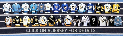 Pittsburgh Penguins History Jersey Numbers 27