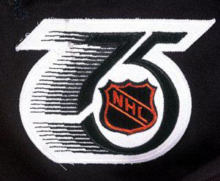 1991-92  NHL 75th Anniversary Patch 43bb8eca5f9