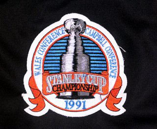 1991 Stanley Cup Finals Patch
