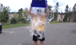 Sid accepts the ice bucket challenge