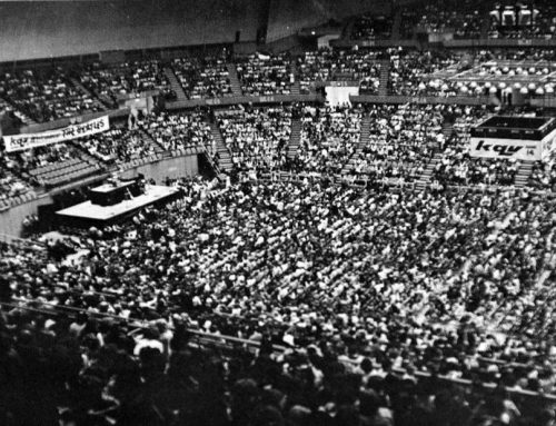 The Beatles at the Civic Arena