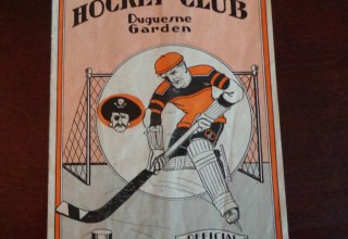 Rare Pittsburgh Hockey Program Sells for $1,008