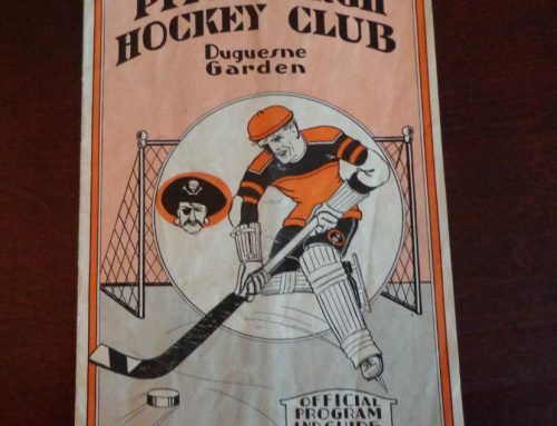 Rare Pittsburgh Hockey Program Sells for $1,008