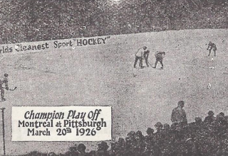 1926: First NHL Playoff Game in Pittsburgh