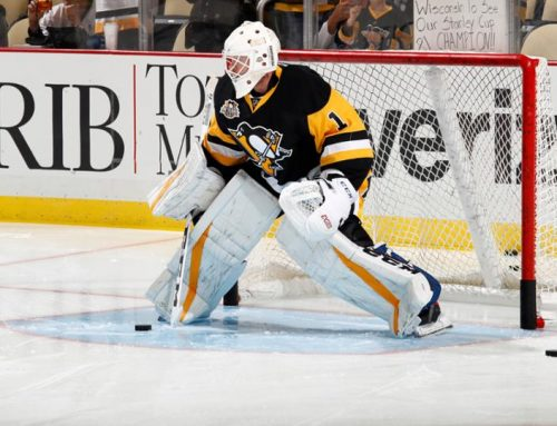 Penguins goalies that played one game, or less